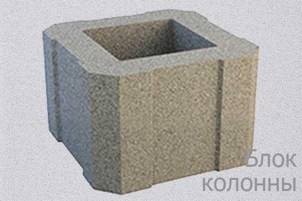 Блок колонны